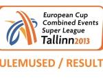Euroopa mitmevõistluse karikavõistluste superliiga tulemused
