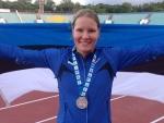 Kairit Olenko võitis kurtide olümpiamängudel hõbemedali!