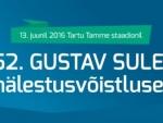 Esmaspäeval, 13. juunil toimub 52. Gustav Sule mälestusvõistlus Tartu Tamme staadionil