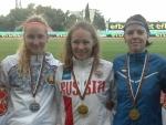Cathy Saem võitis 3. kurtide kergejõustiku MM'ilt Bulgaarias 7-võistluses pronksmedali
