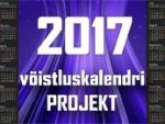 2017 võistluskalendri projekt