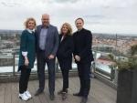 Eesti Kergejõustikuliidu sekretariaati külastasid 25.aprillil meie head naabrid - Läti kergejõustikuliidu president Ineta Radevica ja peasekretär Dmitrijs Milkevics.