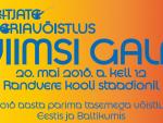 Heitjate seeriavõistluse Viimsi Galal osaleb lisaks Eesti tippudele ka maailmameister Gudžius
