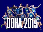 Üheksaliikmeline Eesti koondis läheb Doha MMile kõrgete sihtidega