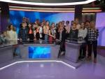 TV 10 Olümpiastarti edukamad koolitiimid käisid tutvumas ERR-i majadega