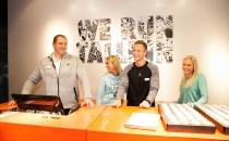 Gerd Kanter, Rasmus Mägi, Grit Šadeiko ja Maris Mägi avasid Eesti suurima Nike esinduskaupluse