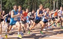 10 000m jooksu Eesti meistrid on Priit Aus ja Annika Rihma