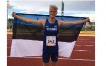 Ken-Mark Minkovski võitis Euroopa olümpiafestivalilt kaugushüppes hõbemedali