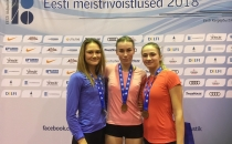 Selgusid U14, U16 ja U18 Eesti meistrid mitmevõistluses, sündis üks vanuseklassi siserekord